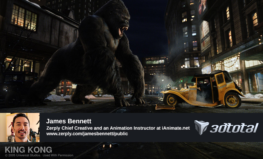 3D Total Interview with James Bennett
