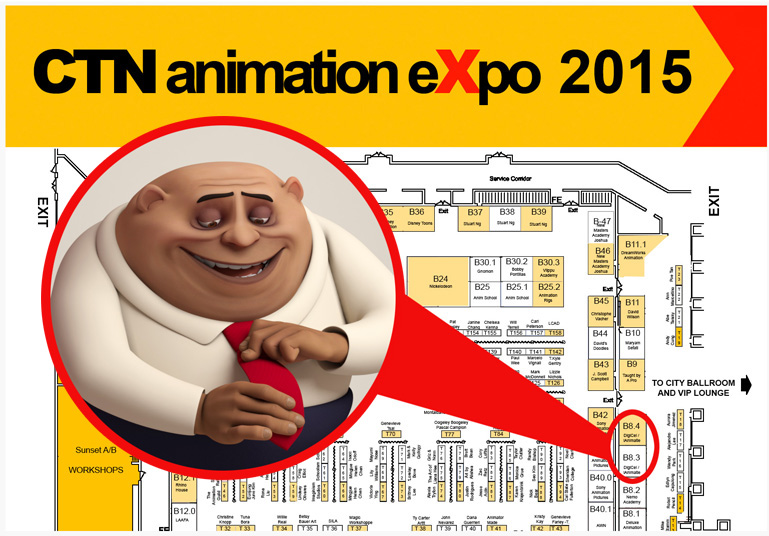 iAnimate at CTN Animation Expo 2015