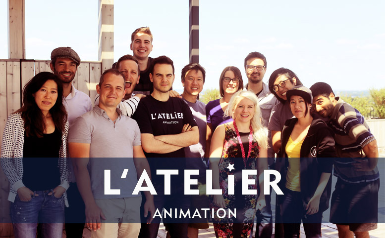 iAnimate crew at L'Atelier Animation