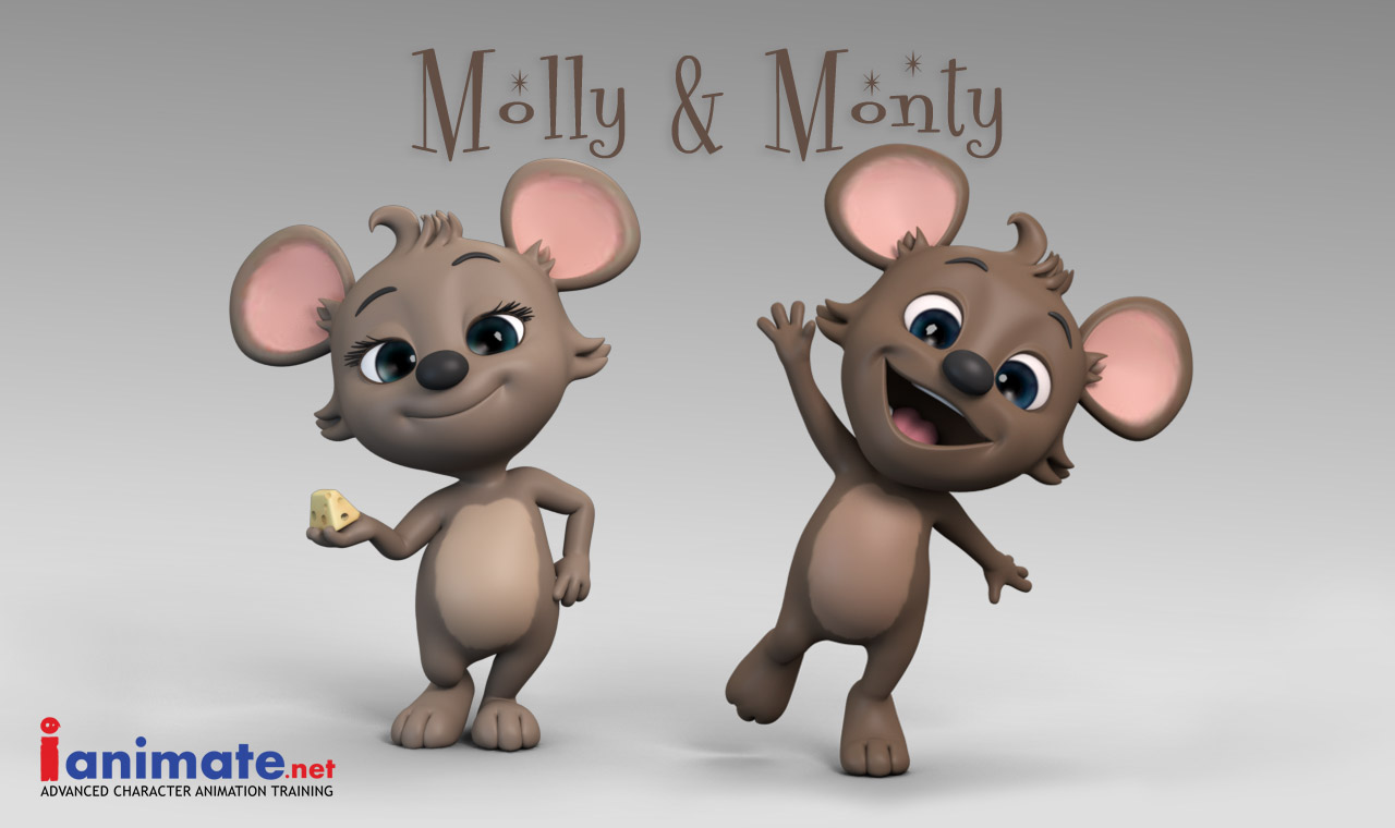 New characters Monty and Molly